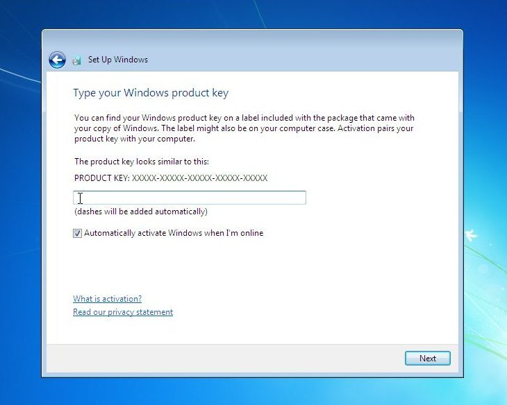 can you download windows 7 with just a product key