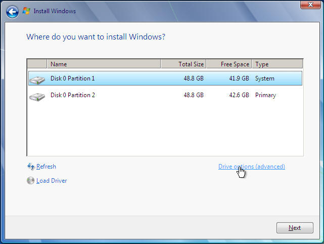 Reinstall and Format of Windows 7 Professional